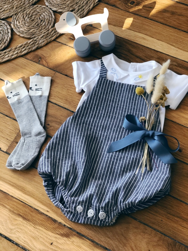 couture bébé barboteuse garçon
