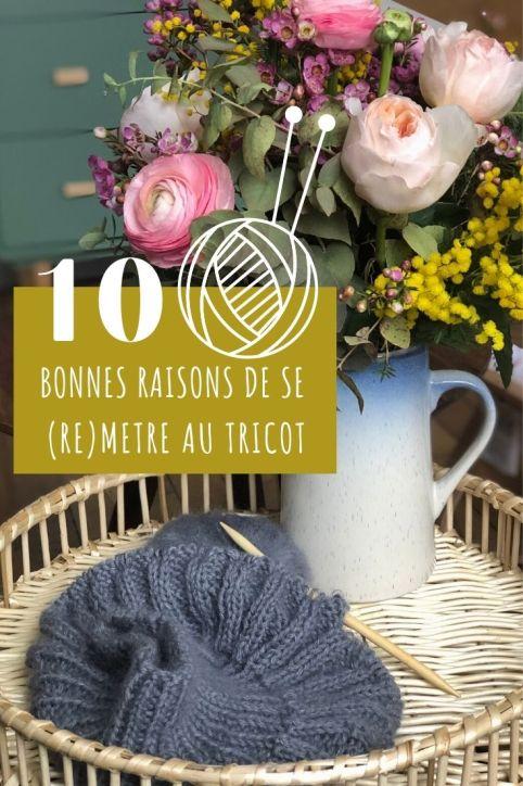10 raisons de commencer le tricot