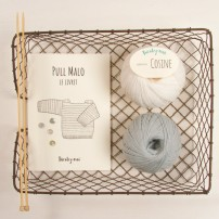 kit tricot pull-malo